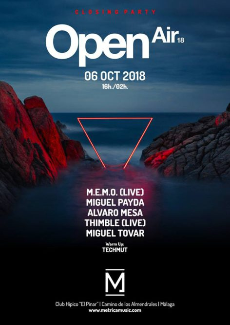 METRICA OPEN AIR 6/10/2018 (Closing Party)
